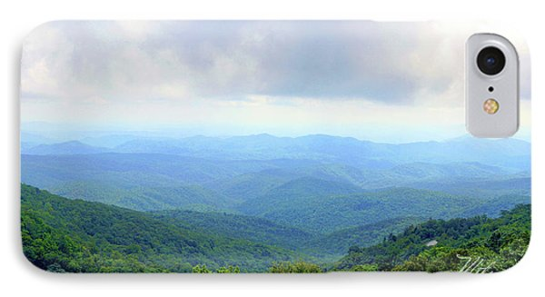 IPhone Case featuring the photograph Blue Ridge Parkway Overlook by Meta Gatschenberger