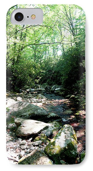 IPhone Case featuring the photograph Blue Ridge Parkway Stream by Meta Gatschenberger