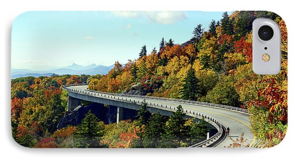 IPhone Case featuring the photograph Blue Ridge Parkway Viaduct by Meta Gatschenberger