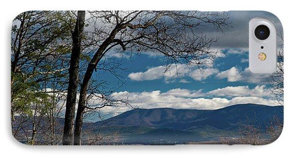 IPhone Case featuring the photograph Blue Ridge Thornton Gap by Lara Ellis