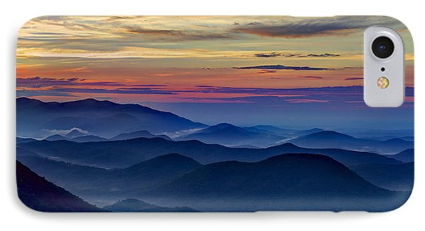 IPhone Case featuring the photograph Blue Ridges Pretty Place Chapel by Reid Callaway