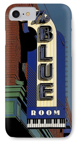 IPhone Case featuring the photograph Blue Room by Jim Mathis