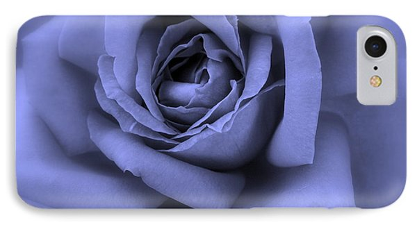 Blue Rose Abstract Phone Case by Carol Groenen