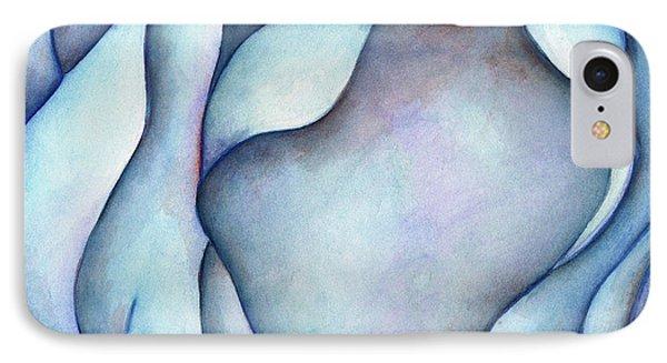 Blue Rose IPhone Case by Versel Reid
