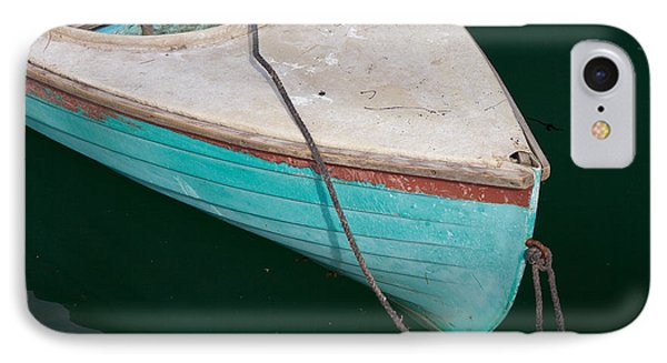 Blue Rowboat 1 Phone Case by Susan Cole Kelly
