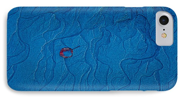 Blue Sand Phone Case by Susan Cole Kelly