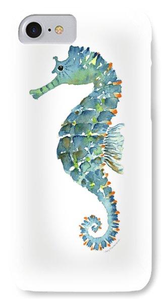 Blue Seahorse IPhone 7 Case