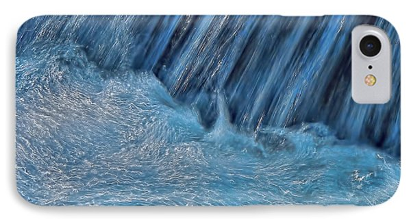 IPhone Case featuring the photograph Blue Seam by Britt Runyon