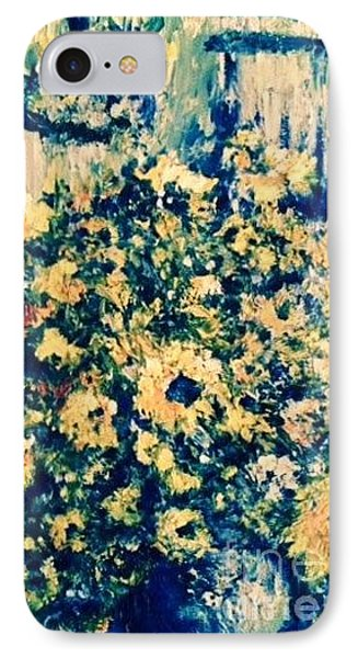 IPhone Case featuring the photograph Blue Septembre by Laurie L