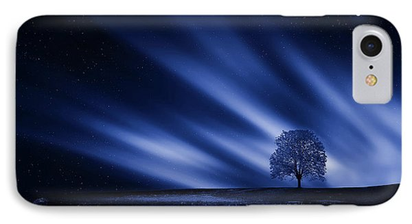 Blue Serenity IPhone Case by Bess Hamiti