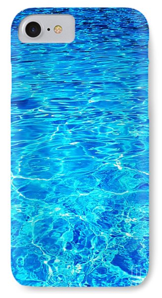 IPhone Case featuring the photograph Blue Shadow by Ramona Matei