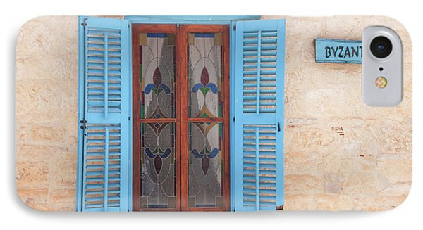 Blue Shutters IPhone Case by Jeremy Voisey