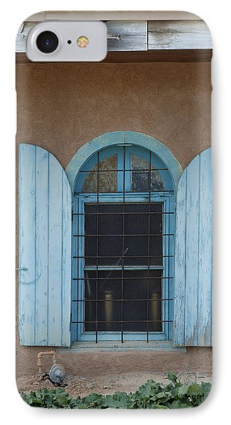 Blue Shutters Phone Case by Jerry McElroy