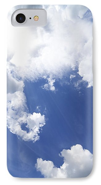 Blue Sky And Cloud IPhone Case