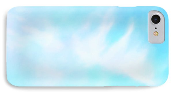 Blue Sky IPhone Case by Anton Kalinichev