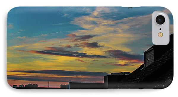 Blue Sky Colorful Sunset Phone Case by Cesar Vieira