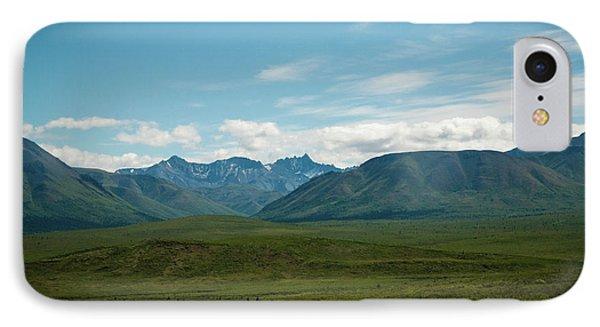 Blue Sky Mountians IPhone Case