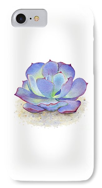 Blue Sky Succulent IPhone Case
