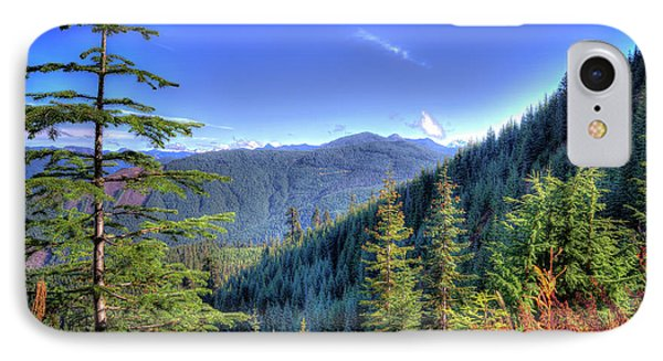 IPhone Case featuring the photograph Blue Skykomish by Spencer McDonald