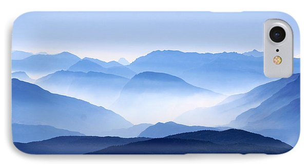 Blue Smoky Mountains IPhone Case by Design Turnpike