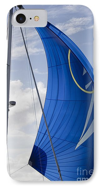 Blue Spinnaker Sy Alexandria IPhone Case