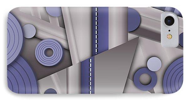 Blue Steel IPhone Case by Tara Hutton