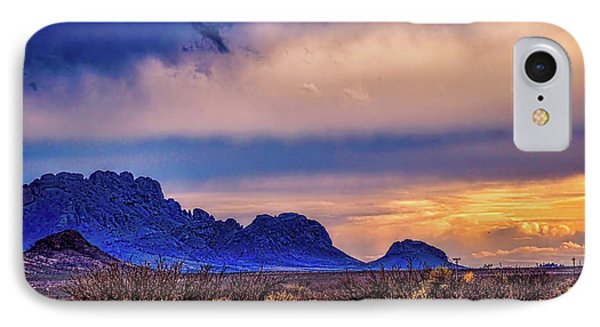 Blue Sunset Nm-az IPhone Case