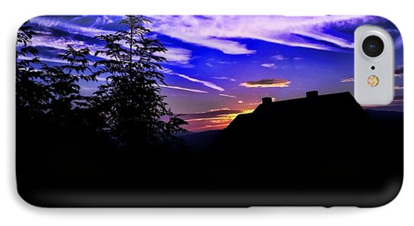 IPhone Case featuring the photograph Blue Sunset In Poland by Mariola Bitner