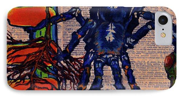 Blue Tarantula IPhone Case