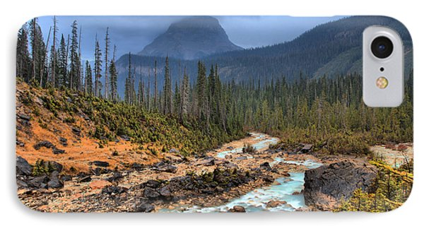 IPhone Case featuring the photograph Blue Through The Yoho Valley by Adam Jewell