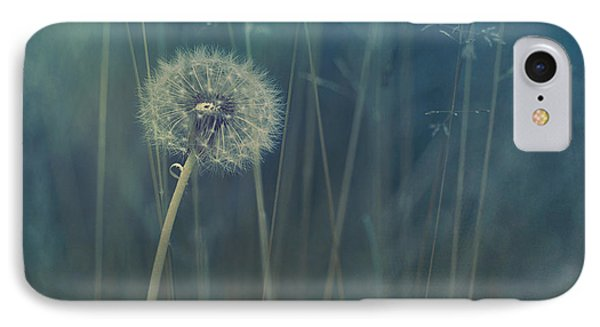 Flowers iPhone 7 Case - Blue Tinted by Priska Wettstein