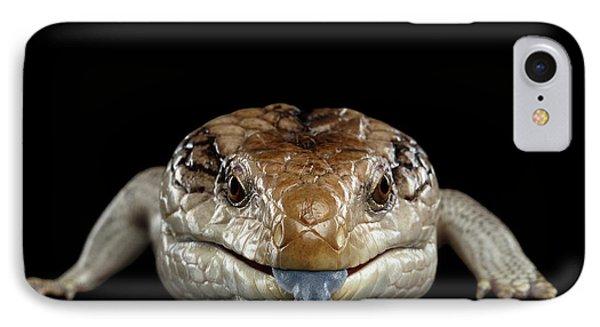 Blue-tongued Skink IPhone 7 Case by Sergey Taran