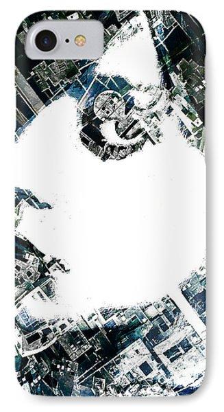 Blue IPhone Case by Tony Rubino