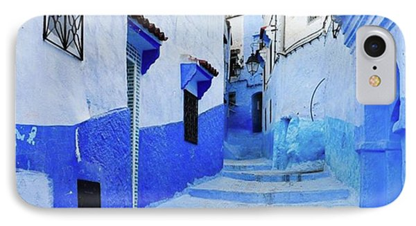 Blue Town(morocco) #mytravelgram Phone Case by Seiji Hori