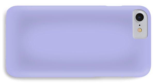 Blue Ultra Soft Lavender Colour Palette IPhone Case
