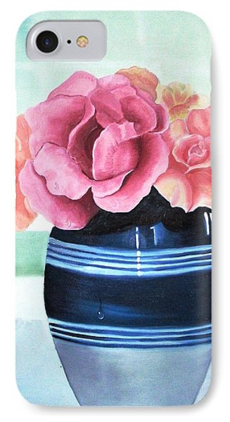Blue Vase IPhone Case