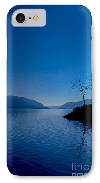 Blue IPhone Case by Victory Designs