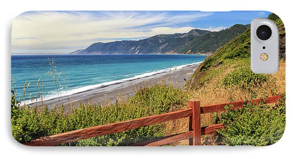 IPhone Case featuring the photograph Blue Waters Of The Lost Coast by James Eddy