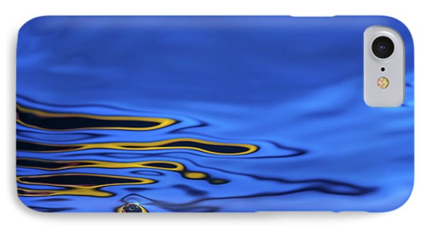Blue Wave Abstract Number 2 IPhone Case