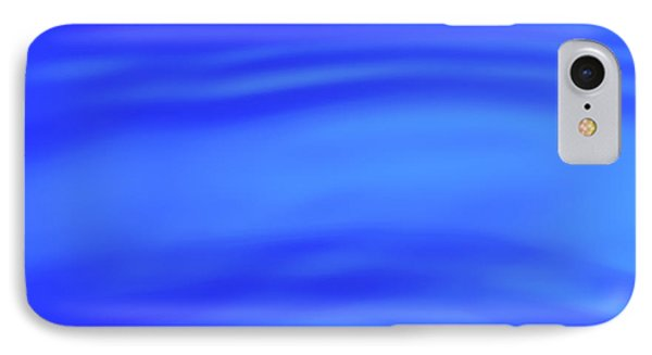 Blue Wave Abstract Number 4 IPhone Case