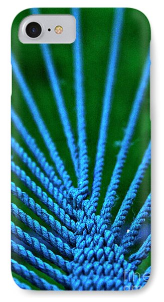 Blue Weave IPhone Case