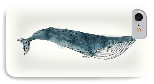 Blue Whale From Whales Chart IPhone 7 Case