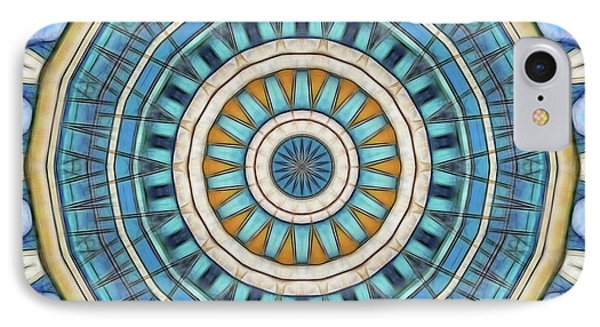 IPhone Case featuring the digital art Blue Wheeler 1 by Wendy J St Christopher