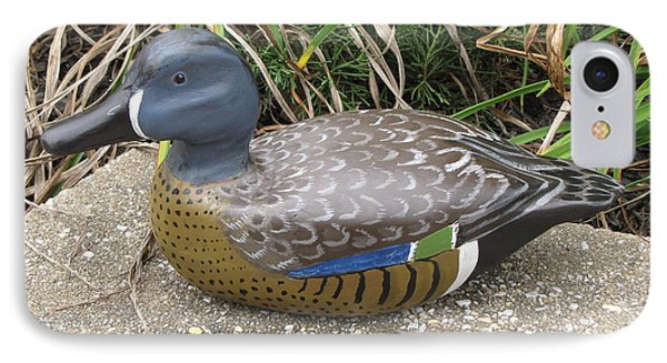 Blue-winged Duck IPhone Case by Kevin F Heuman