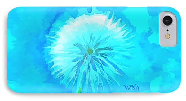 Blue Wishes IPhone Case by Krissy Katsimbras