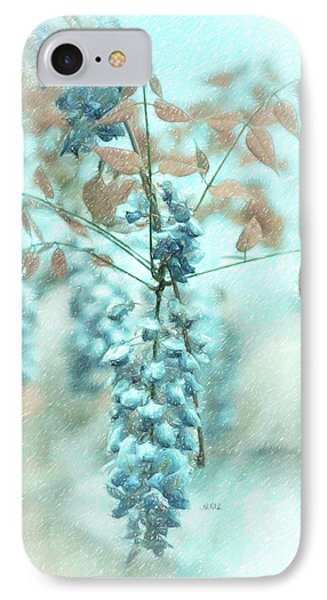 Blue Wisteria Phone Case by Angela A Stanton