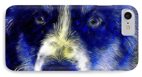 Blue Zoe IPhone Case