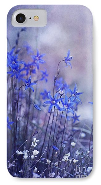 Flowers iPhone 7 Case - Bluebell Heaven by Priska Wettstein