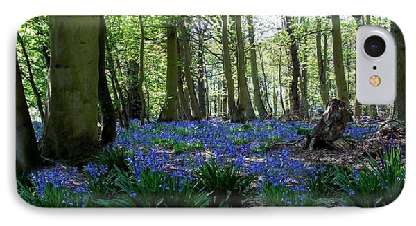 Bluebell Woods IPhone Case