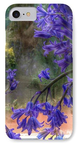Bluebells In My Garden Window IPhone Case